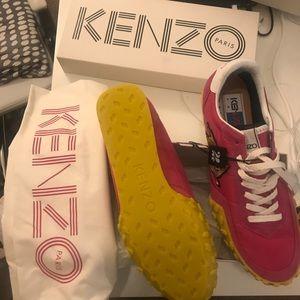Kenzo K run sneakers - pink - UNWORN